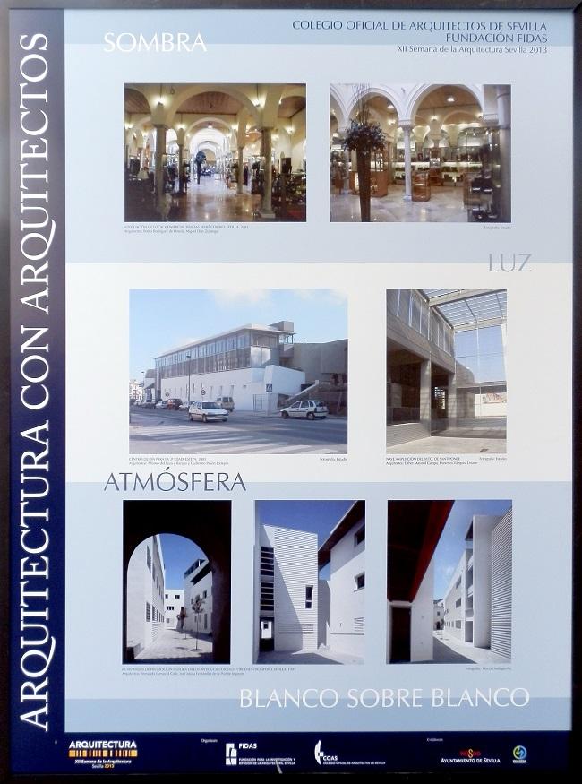 prparquitectos presente en la xii semana de la arquitectura de Sevilla